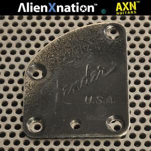 Vintage Fender USA Neckplate neck plate