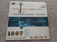 The Golden Era of Dixieland Jazz Vinyl LP Records