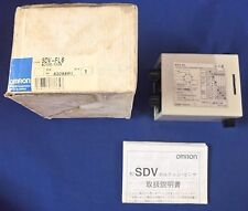 Omron SDV-FL6 AC100/110 VOLTAGE SENSOR USED