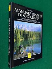 Lello PIAZZA - MANUALE PRATICO DI FOTOGRAFIA , Ed G.Mondadori (1989) Libro