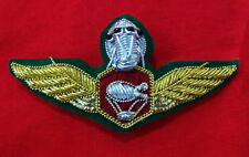 Balloon Green, Royal Thai Army Parachutist Wing Badge PIN Thailand Military ARMY