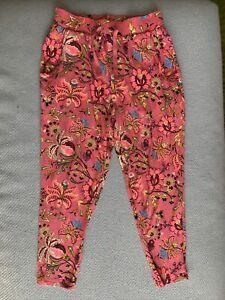 Girls Next Pink Jersey Summer Trousers 6 Years New