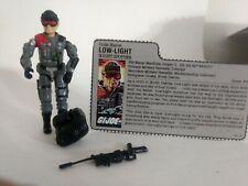 New listing 1986 Vintage G I Joe Low-Light Night- Spotter Action Figure