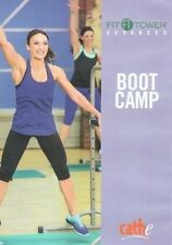 Cardio Toning Exercise DVD - Cathe Friedrich FIT TOWER ADVANCED BOOT CAMP DVD
