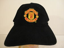 Men's Manchester United English Soccer Black Baseball Cap Hat