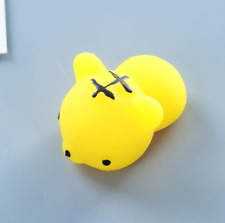 Mochi Lovely Tiger Squishy Squeeze Healing Stress Reliever Toy Gift Decor Yellow