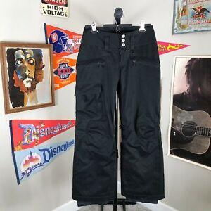 Patagonia H2NO Ski Snowboard Pants Insulated Black Women's XS