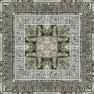 Repeat rough stone style Tile Stickers for 6x6 Inches 4x4 and 3x3 tiles ma24