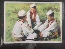 1962 Albania Picture Postcard Cover To Sofia Bulgaria Chibi Boys