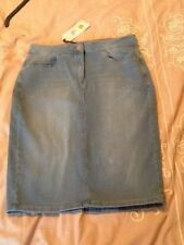 Marks and Spencer Stretch, Bodycon Denim Skirts for Women