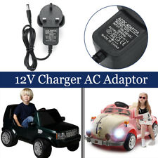 12V 1A Ride On Car Bike Battery Charger AC Adapter For Kids Electric Scooter New