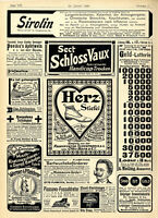 Königsberg Schloß Geld-Lotterie Sirolin 4711 Caw`s Füllfeder Schwan Nürnberg1904