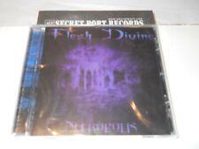 Flesh Divine – Necropolis,SEALED cd,kreator,sodom,slayer