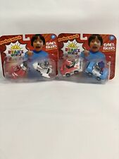 Ryan's World Lot Of 2 Pack Blue & Red Planes Ryan's Racers Vehicles Pull Back