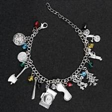 Stranger Things Bracelets (10 Themed Charms)Assorted Metal Women Jewelry