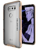 For LG V30 Case | Ghostek CLOAK3 Ultra Slim Clear Hybrid Shockproof Bumper Cover