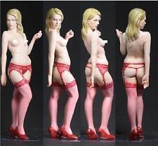 【KD091】Scale 1/35 Blonde Lady Sexy Nude Girl Women Resin Model  Model Kit