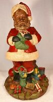 SANTA IV-R 1987~Tom Clark Gnome~Cairn #5006~Ed #29~Hand Signed~w/COA & Story
