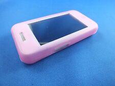Tasche Hülle Samsung GT S5230 Handytasche Nostalgie Klassik Transparent Rose TOP