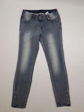 Rainbow Skinny Jeans, blue bleached, Gr. 38