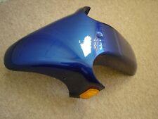 Front mudguard.  Motorhispania RX50.  Peugeot XR6.  Blue  0740111000012