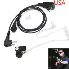 EarPiece Headset EAR PIECE MIC for MOTOROLA 2-Pin CLS1110 CP100 CLS1410 Radio