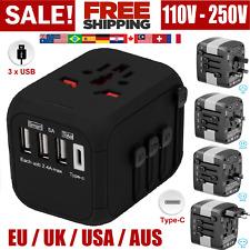 Travel Plug Adapter European Outlet International Universal Power EU to US to EU