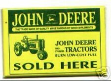 JOHN DEERE advertising pocket MIRROR tractors