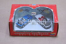 MATTEL HOT WHEELS  CORVETTE SHOWCASE   2 CAR SET 1/64  #Q1