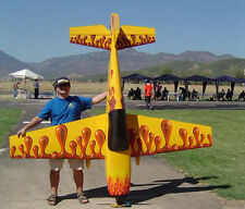 Giant 1/3 Scale Extra 300L Aerobatic Plane Plans, Templates, Instructions 108ws