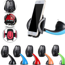 Black -Li262 Car Windscreen Holder Suction Mount Stand For Mobile Phone Samsung