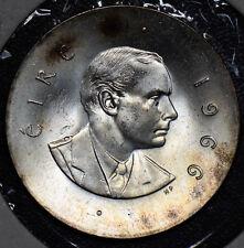 Ireland 1966 10 Shillings silver BU BU0222 combine shipping