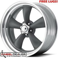"18x8-18x9"" AMERICAN RACING VN215 TORQUE THRUST WHEELS CHEVY GMC C10 SWB LWB 5LUG"
