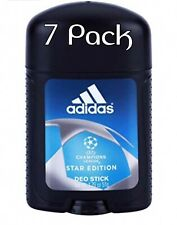 7 x Adidas UEFA Champions League STAR EDITION - deo stick for MEN - 53 ml / 51 g