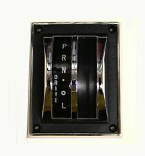 NEW 1964-1966 Ford Mustang Shift Cover Auto Transmission Chrome Bezel