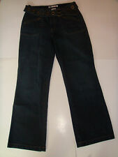 FADED GLORY STRETCH JEANS  WITH BELT INCLUDED SIZE 12