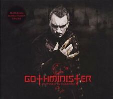 GOTHMINISTER Happiness In Darkness CD Digipack 2008