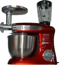 3 in 1 Küchenmaschine StandMixer Ice Crusher Fleischwolf Teigkneter 8 L 2000 W