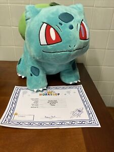 Build A Bear Bulbasaur Pokemon With Sound And Certificate Nwt
