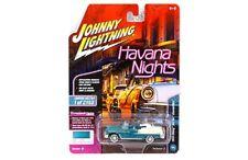 Johnny Lightning 1:64 Havana Nights 1955 Chevrolet Bel Air Convertible JLCP7104