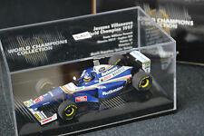 williams renault fw19 jacques villeneuve  f1 1997 minichamps world champion 1/43