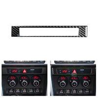 Real Carbon Fiber Center Control Frame Cover For Toyota 86 Scion FR-S Subaru BRZ