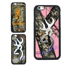 Fashion Browning Camo Case for iPhone 4 5S 5C 6 6S Plus 7 & Samsung Galaxry S7