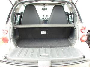 Soundboard Heckablage zweiteilig SMART FOR TWO 451 Coupe Bass Boxen