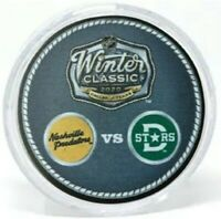 Dallas Stars & Nashville Predators 2020 Winter Classic Dueling Puck (in Tube)