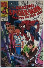 1990 AMAZING SPIDER-MAN #1  SKATING ON THIN ICE -   VF               (INV9461)