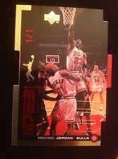 1998-99 UPPER DECK UD MJ23 MICHAEL JORDAN CHICAGO BULLS DIE-CUT INSERT GOLD #1/1