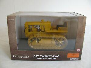 Norscot 1/16 Die-Cast Caterpillar Cat Twenty-Two Track-type Tractor #55154 NOS