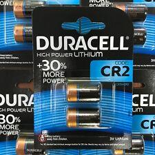 2 x Duracell CR2 3V Ultra Lithium Photo Battery DLCR2 ELCR2 CR15H270 LONGEST EXP