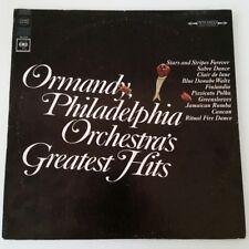 ORMANDY PHILDELPHIA ORCHESTRA'S GREATEST HITS LP COLUMBIA RECORDS MS6934